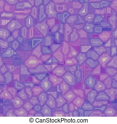 Violet seamless circuit board