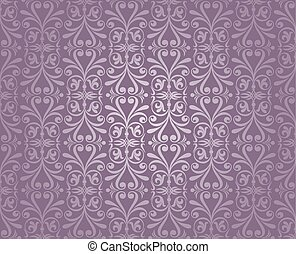violet silver luxury vintage wallpaper