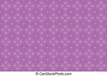 Violet Star Background