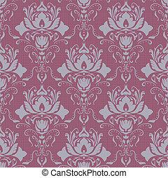 Violet vintage wallpaper.