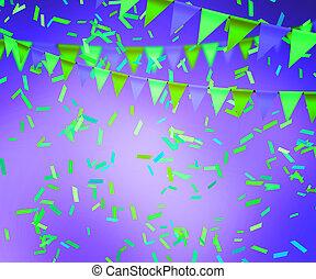 violeta, celebração, fundo