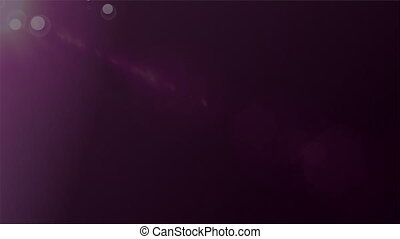 violeta, fundo, animação