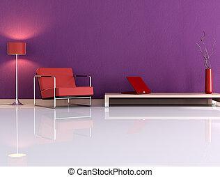 violeta, sala
