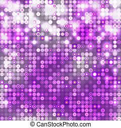 violett, abstrakt, stickande, bakgrund, med, cirklarna