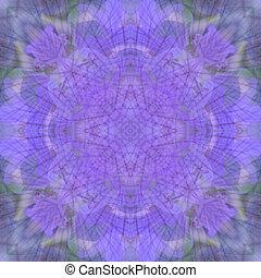 violett, mandala, hintergrund