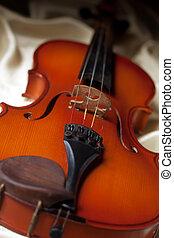 Violin - Close-up of an old violin