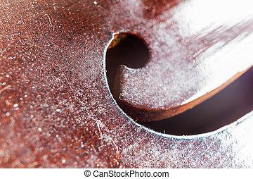 Violin F Hole