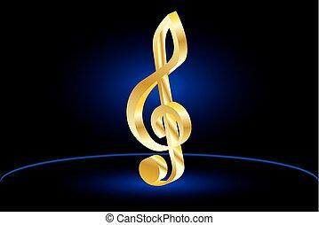 Violin key, music clef