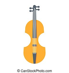 Violin Vector Icon