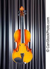 violing, in, musik, begrepp