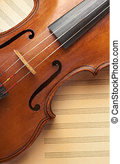 violino, antigas