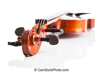 violino, close-up, vindima