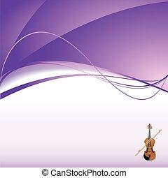 violino, fundo