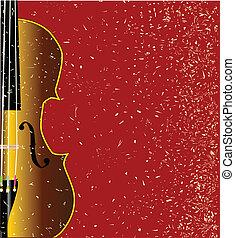 violino, grunge