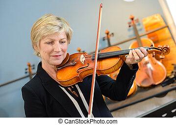 violino, melodia