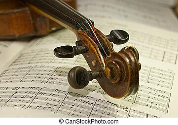 violin's, oud, boekrol