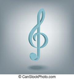 violinschlüssel, symbol