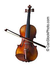 violon, isolé