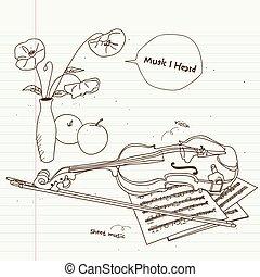 violon, vie, encore