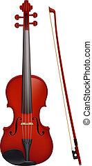 viool, fiddlestick