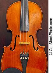 viool, hout, achtergrond