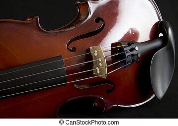viool, op einde