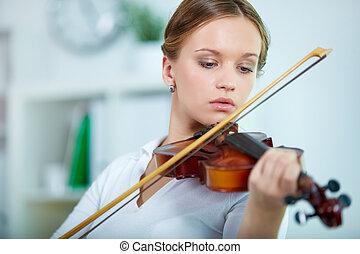 viool speler