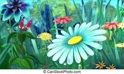 viooltje, vlinder