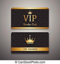 vip, テンプレート, カード