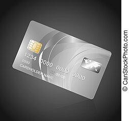 vip, 黒, 銀, カード