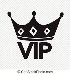vip, appartenenza, icona