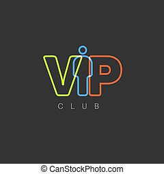 VIP club invitation template