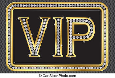 vip, diamants