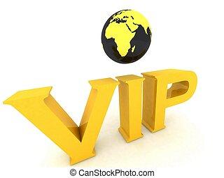 VIP globe