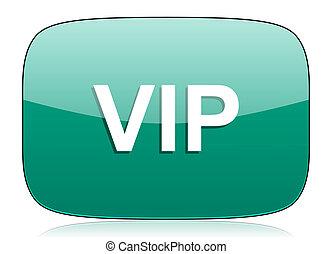 vip green icon