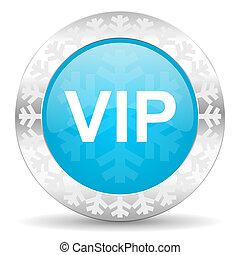 vip icon, christmas button