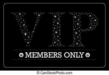 VIP Members only card design - VIP Members only card VIP...