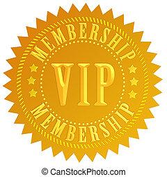 Vip membership seal