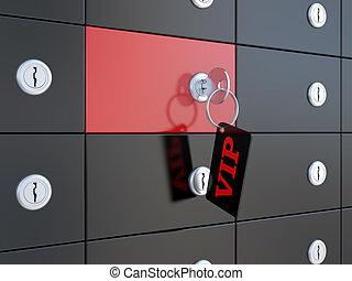 VIP safety deposit boxes