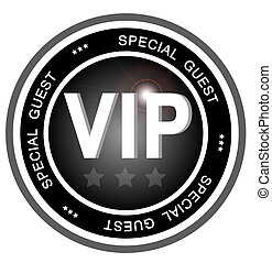 VIP special guest - An illustrated badge symbolizing a very...