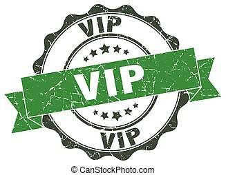 vip stamp. sign. seal
