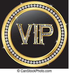 Vip with diamonds