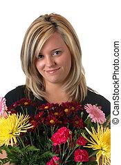 virág lány