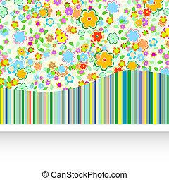 virág, művészi, háttér
