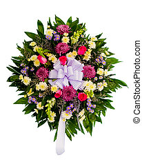 virág, színes, egyezség