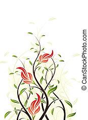 virágos, örvény