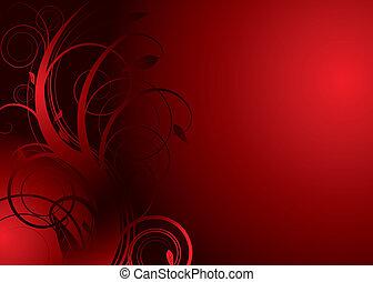virágos, duzzasztógát, piros