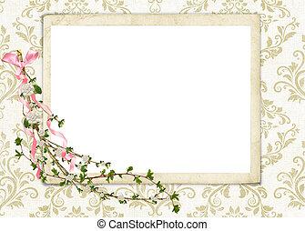 virágos, gally, damaszt