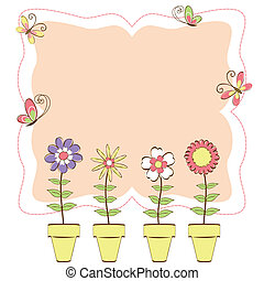 virágos, lepke, színes