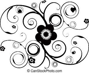virágos, tetovál